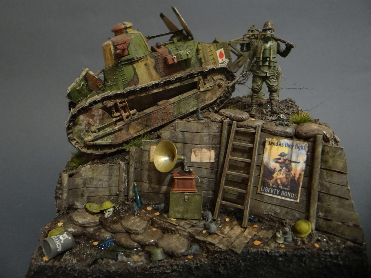 Dioramas and Vignettes: FT-17, photo #1