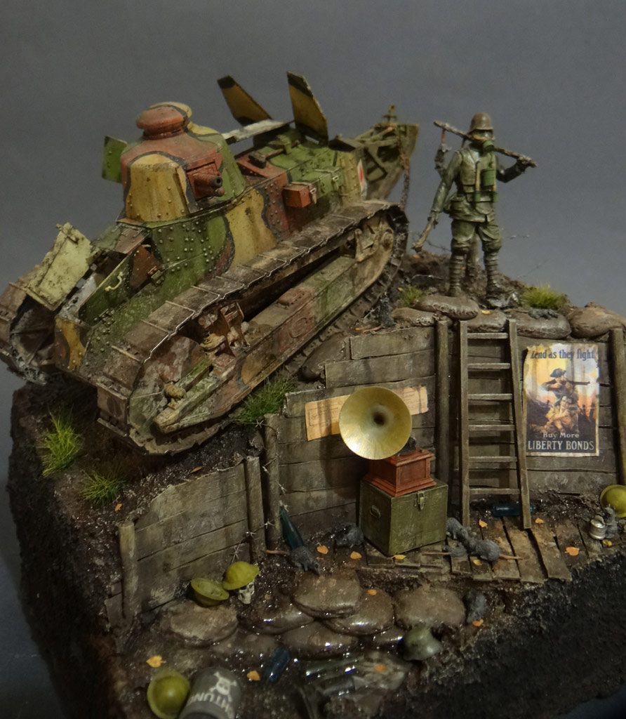 Dioramas and Vignettes: FT-17, photo #2