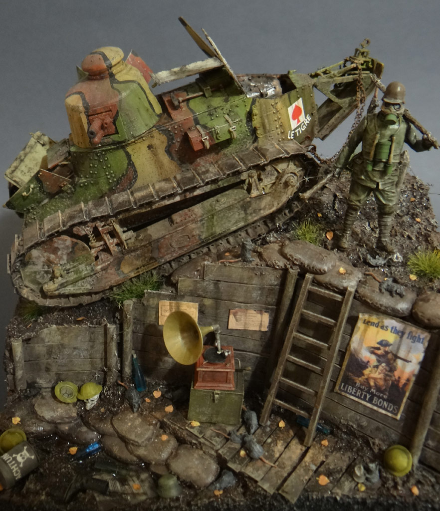 Dioramas and Vignettes: FT-17, photo #4