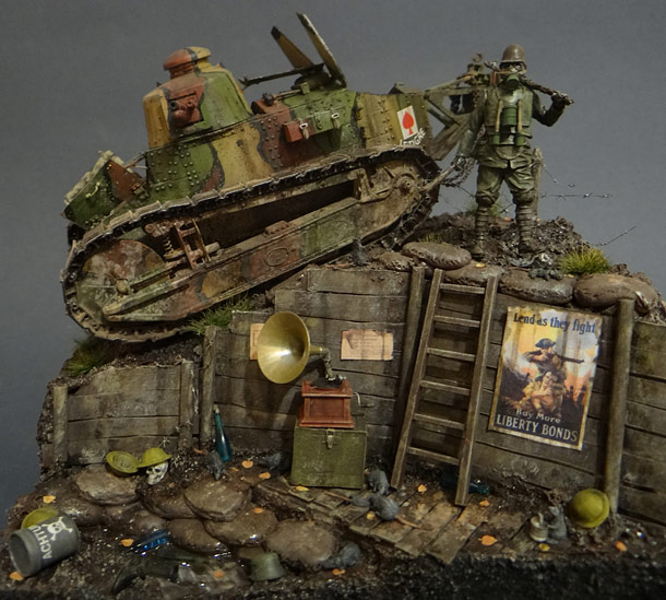 Dioramas and Vignettes: FT-17