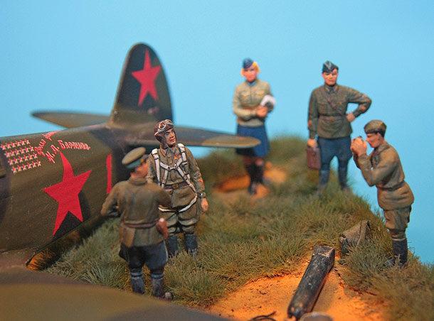 Dioramas and Vignettes: Photo for the «Red Star» newspaper