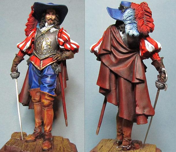 Figures: Nobleman, XVII cent.