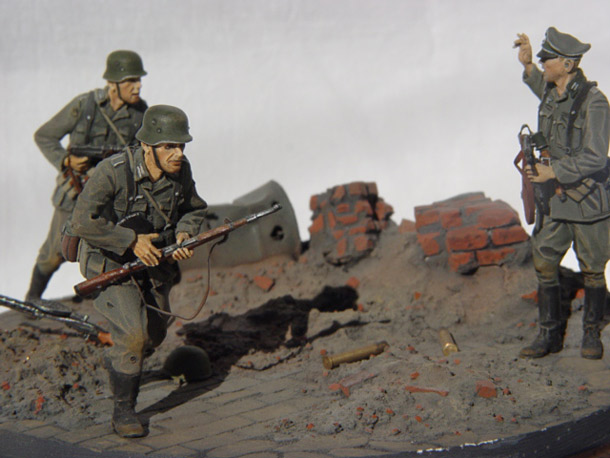 Dioramas and Vignettes: German Infantry, Stalingrad