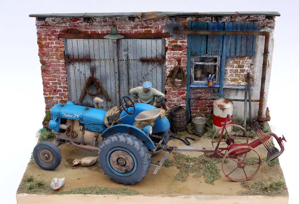 Dioramas and Vignettes: Czech homestead, photo #2