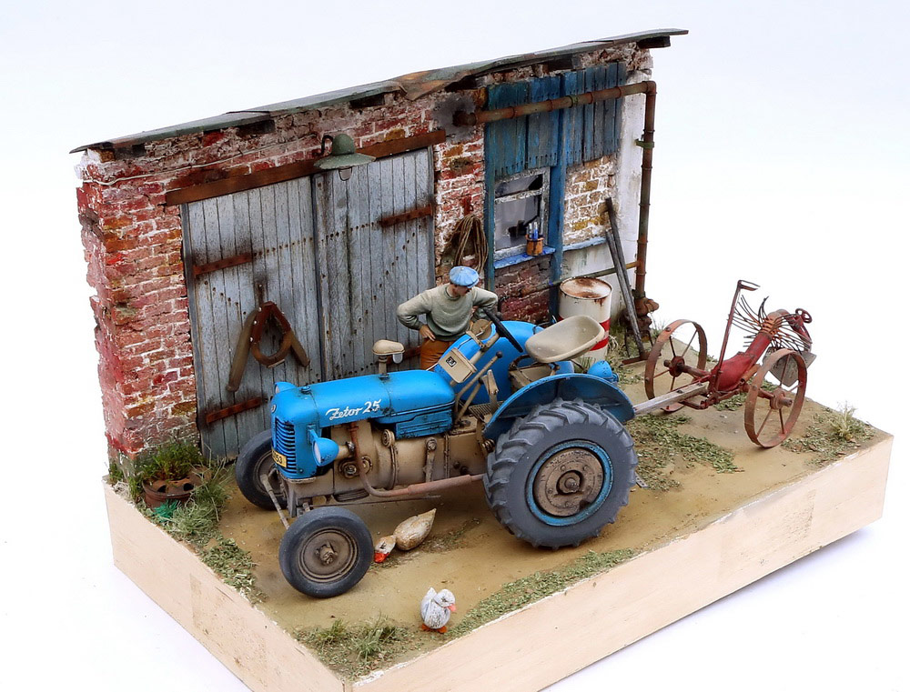 Dioramas and Vignettes: Czech homestead, photo #3