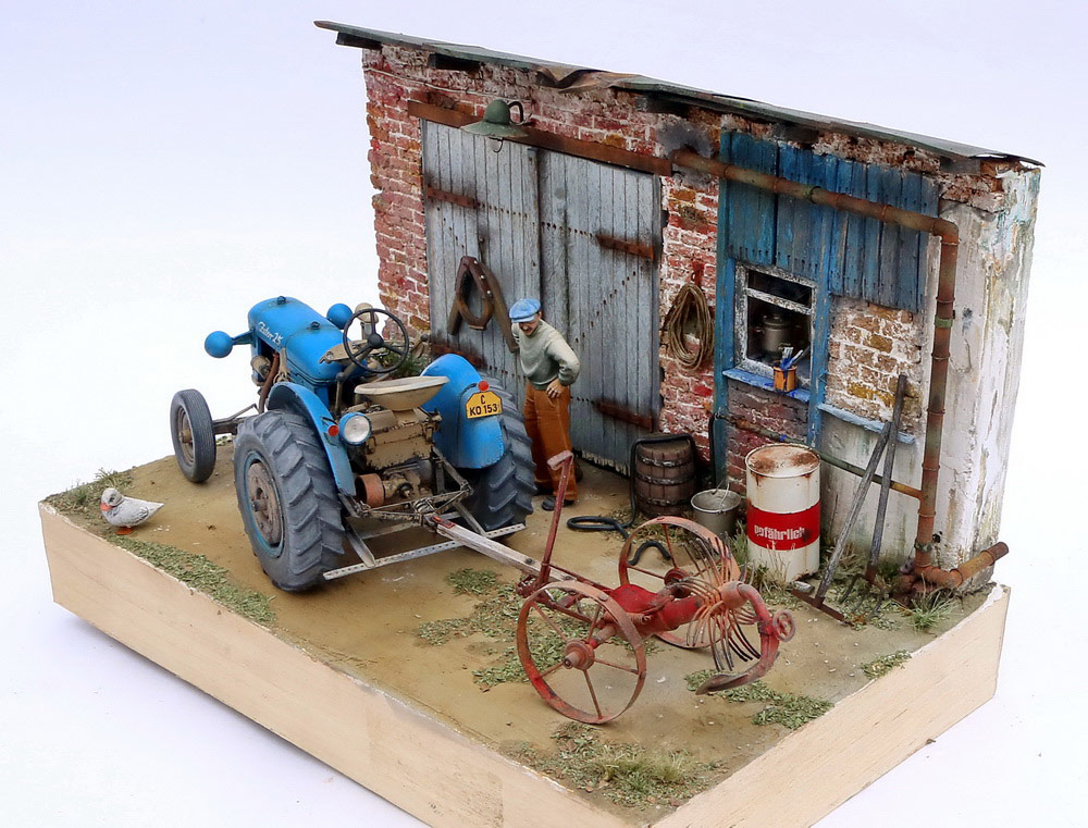 Dioramas and Vignettes: Czech homestead, photo #4
