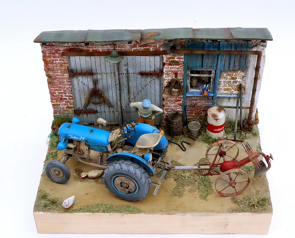 Dioramas and Vignettes: Czech homestead, photo #6