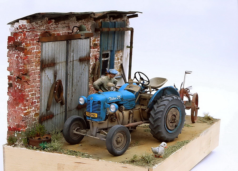 Dioramas and Vignettes: Czech homestead, photo #9