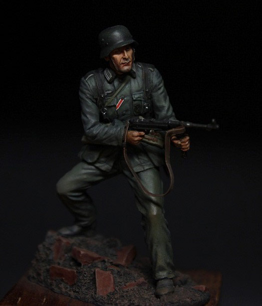 Figures: German infantryman, 1942, photo #3