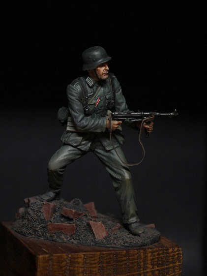 Figures: German infantryman, 1942, photo #4