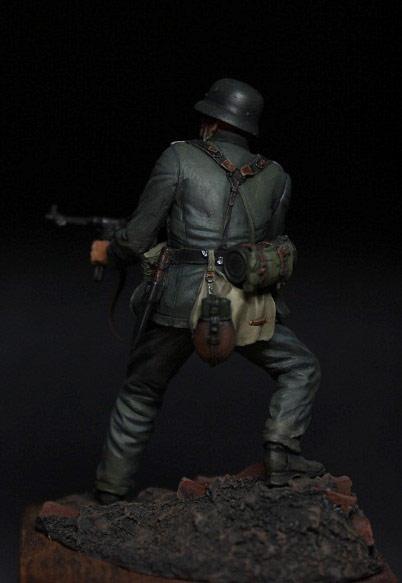 Figures: German infantryman, 1942, photo #7