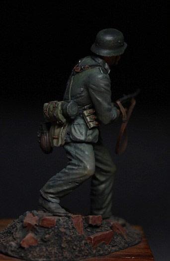 Figures: German infantryman, 1942, photo #8