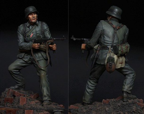 Figures: German infantryman, 1942