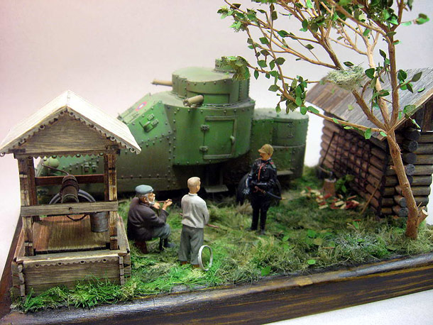Dioramas and Vignettes: Рarting words
