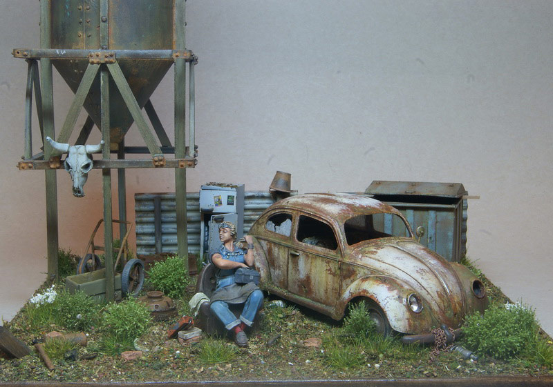 Dioramas and Vignettes: Rosie & the Beetle, photo #1
