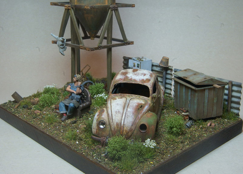 Dioramas and Vignettes: Rosie & the Beetle, photo #10
