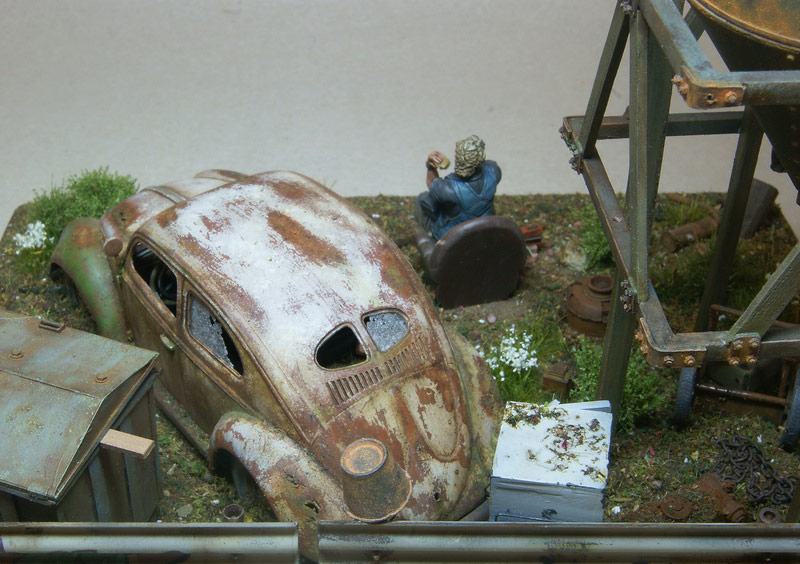 Dioramas and Vignettes: Rosie & the Beetle, photo #11