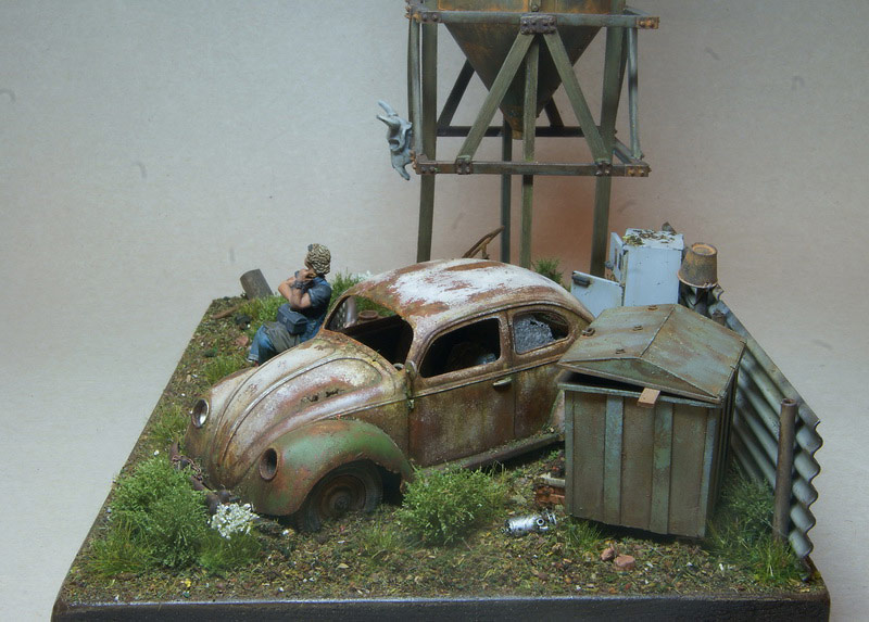 Dioramas and Vignettes: Rosie & the Beetle, photo #12