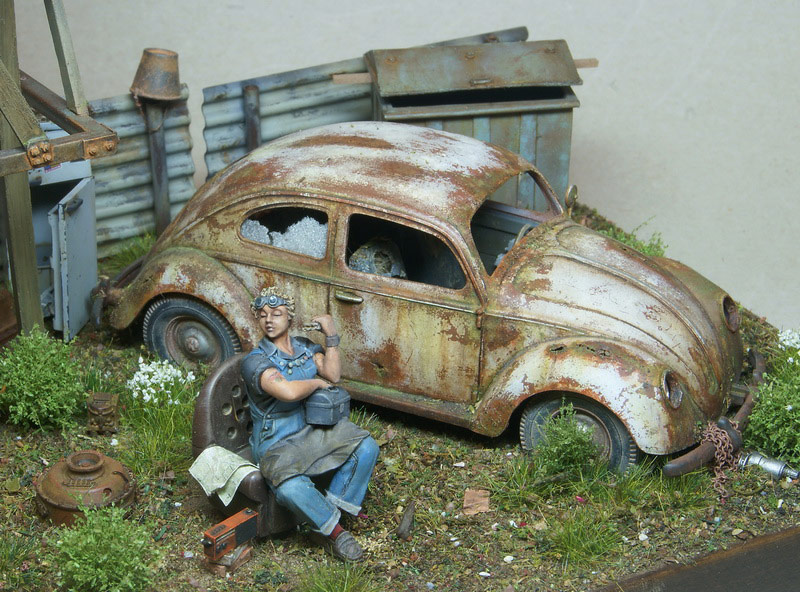 Dioramas and Vignettes: Rosie & the Beetle, photo #13