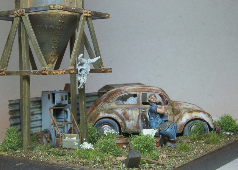Dioramas and Vignettes: Rosie & the Beetle, photo #14
