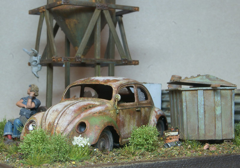 Dioramas and Vignettes: Rosie & the Beetle, photo #15