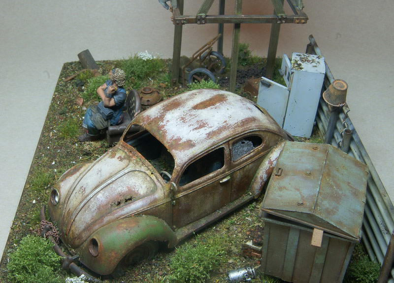 Dioramas and Vignettes: Rosie & the Beetle, photo #2