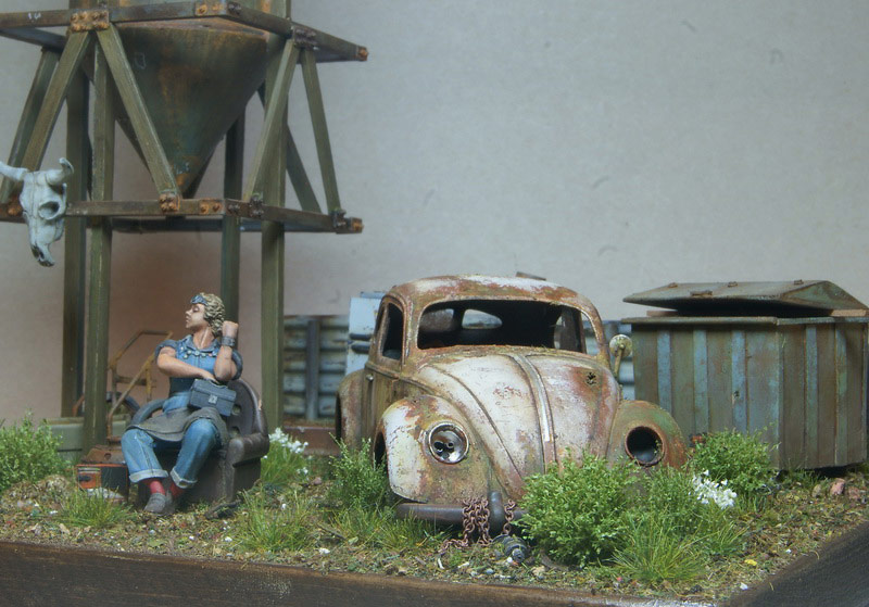Dioramas and Vignettes: Rosie & the Beetle, photo #4