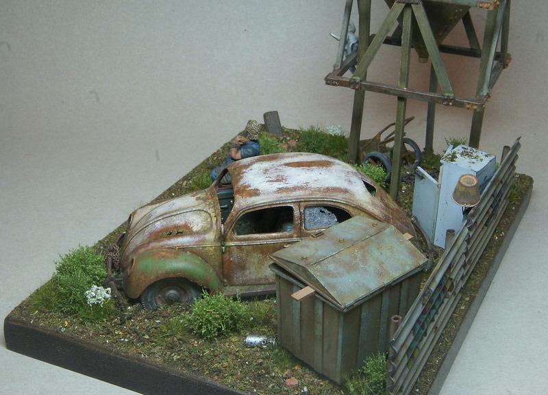 Dioramas and Vignettes: Rosie & the Beetle, photo #5