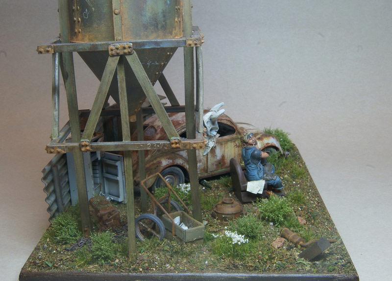 Dioramas and Vignettes: Rosie & the Beetle, photo #7
