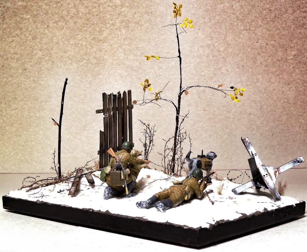 Dioramas and Vignettes: Soviet tank hunters, photo #1