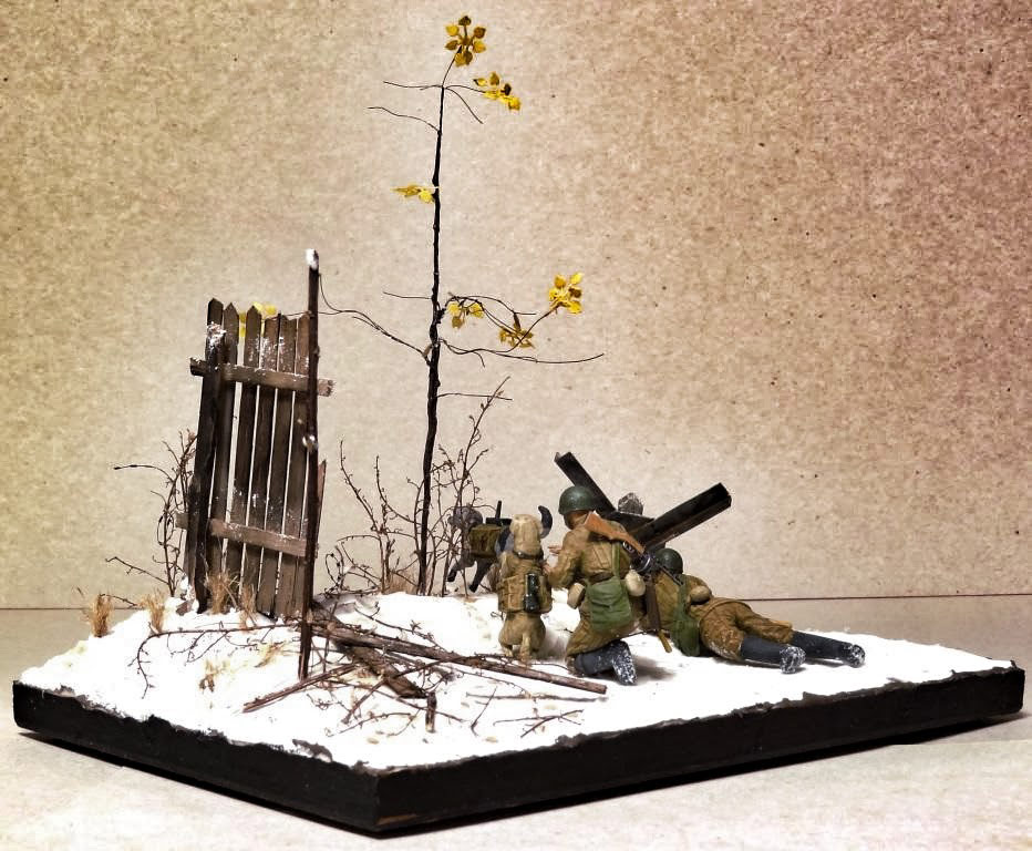 Dioramas and Vignettes: Soviet tank hunters, photo #10