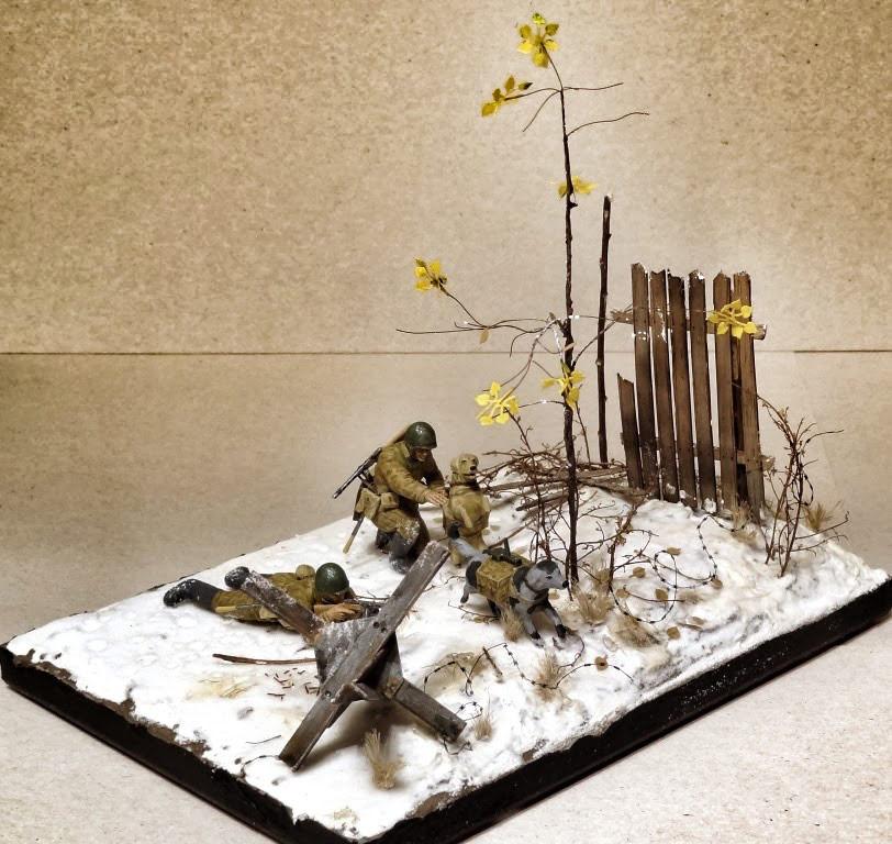 Dioramas and Vignettes: Soviet tank hunters, photo #12