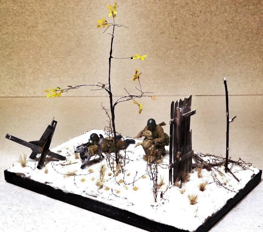 Dioramas and Vignettes: Soviet tank hunters, photo #13