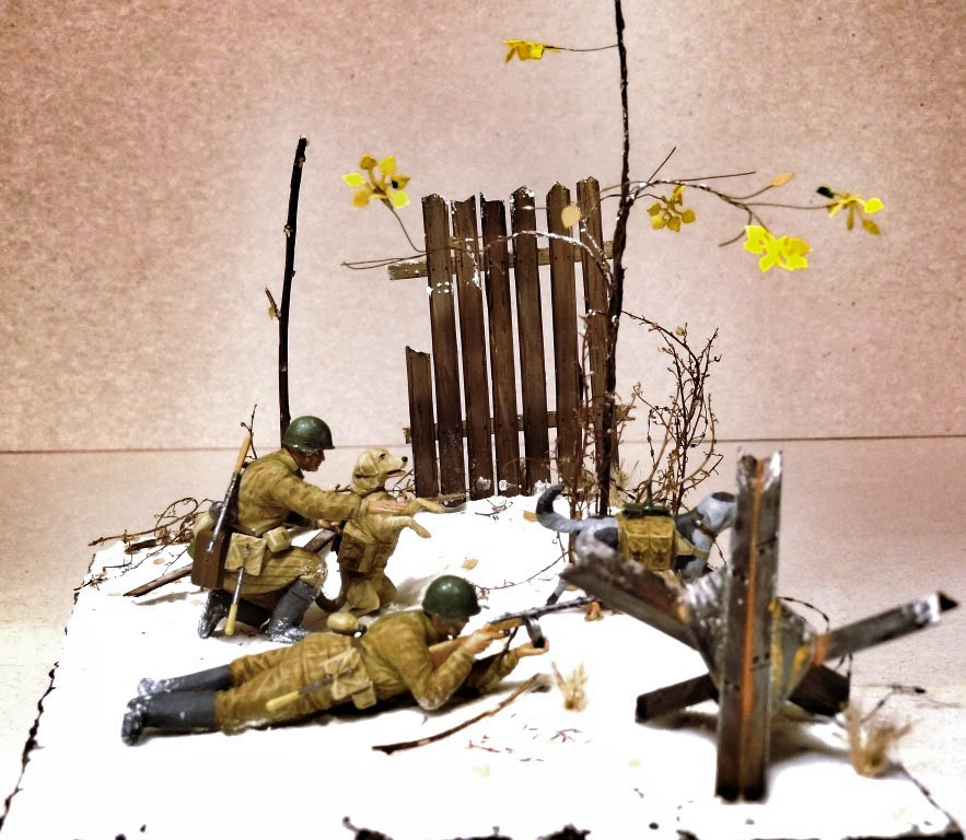 Dioramas and Vignettes: Soviet tank hunters, photo #3