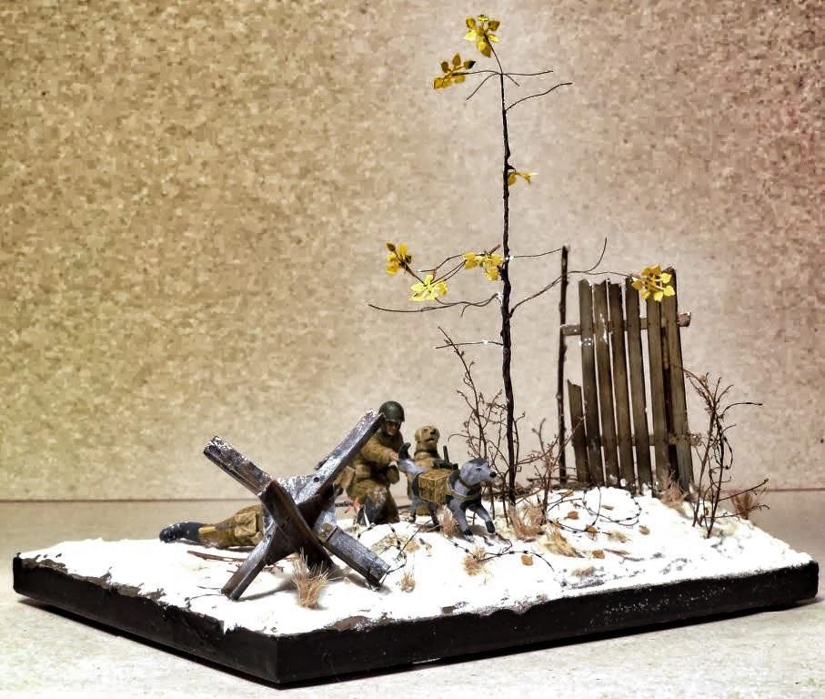 Dioramas and Vignettes: Soviet tank hunters, photo #4