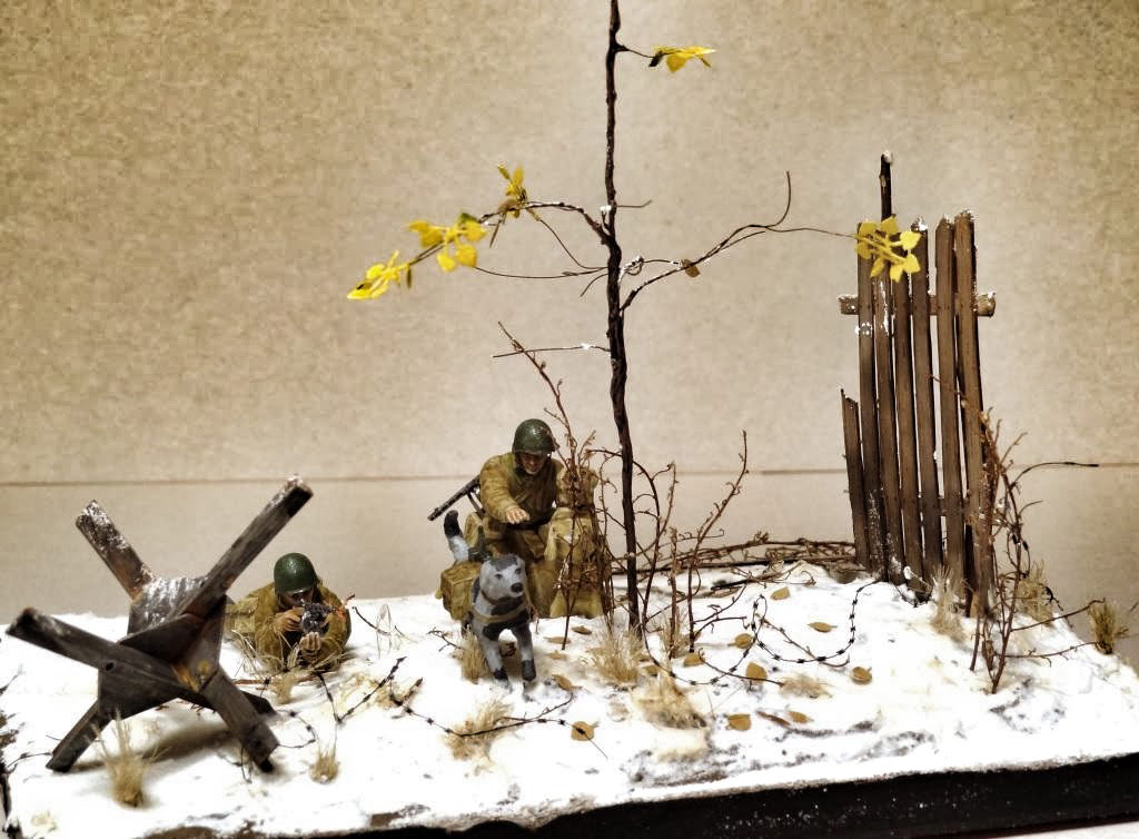 Dioramas and Vignettes: Soviet tank hunters, photo #5