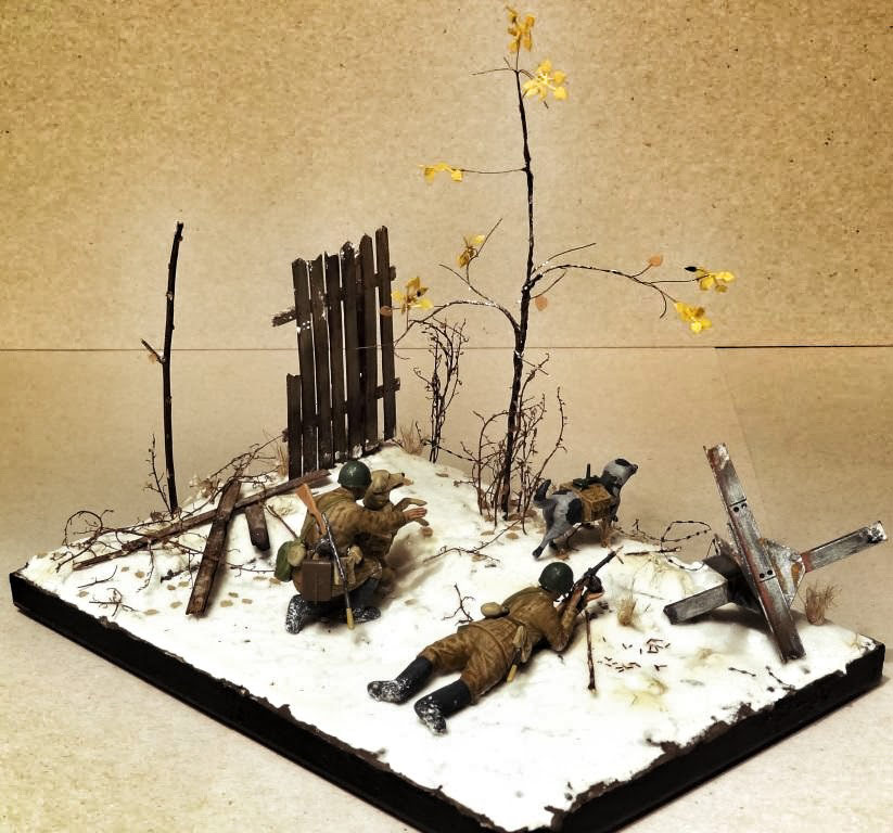 Dioramas and Vignettes: Soviet tank hunters, photo #6