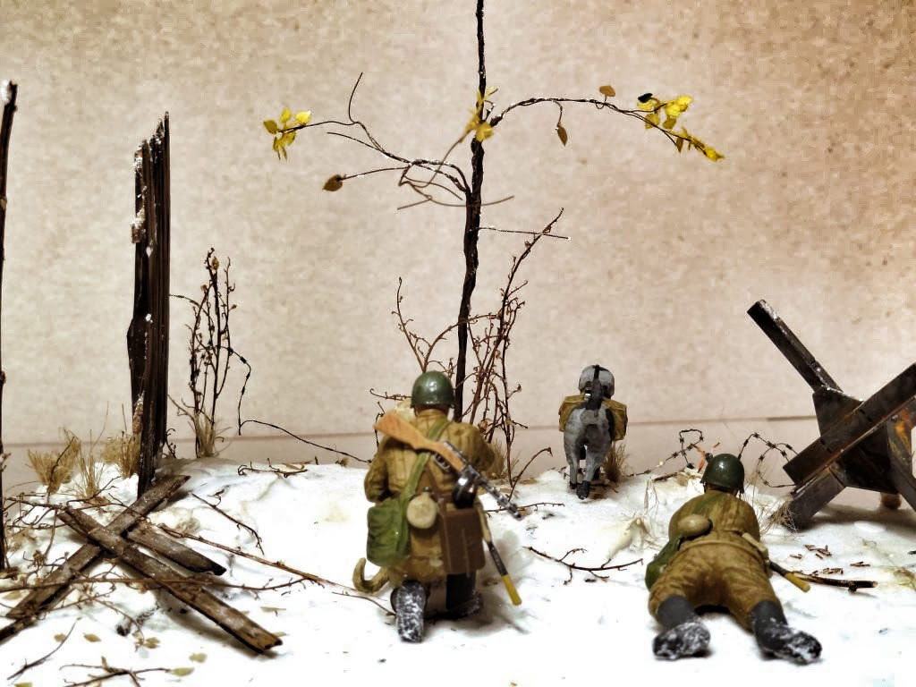 Dioramas and Vignettes: Soviet tank hunters, photo #7