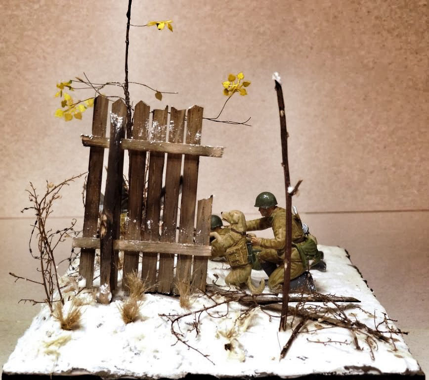 Dioramas and Vignettes: Soviet tank hunters, photo #8