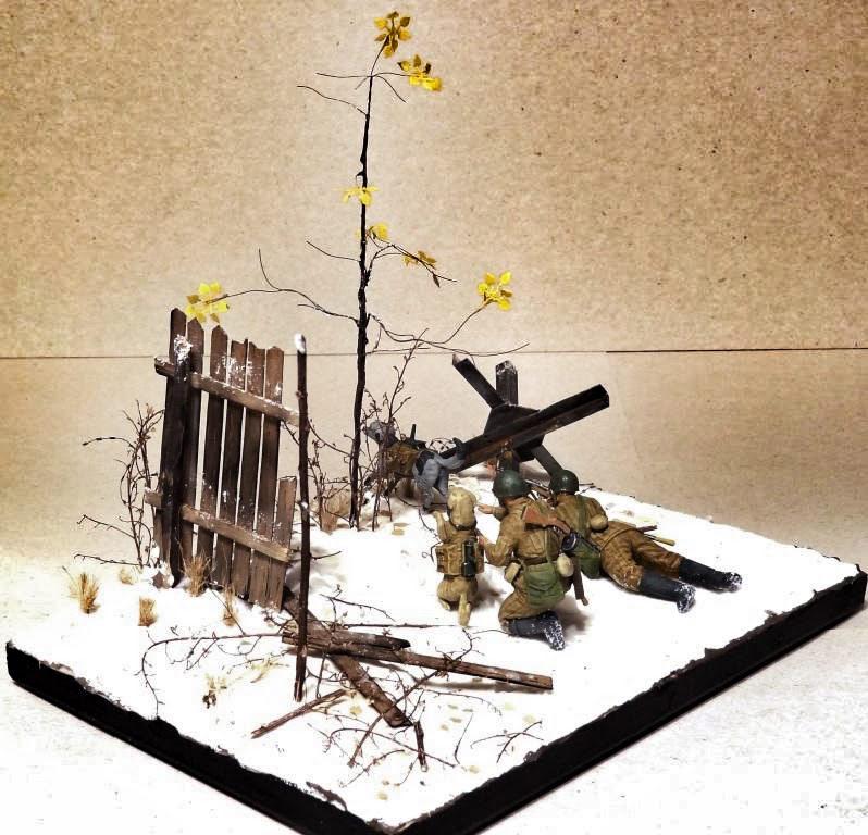 Dioramas and Vignettes: Soviet tank hunters, photo #9