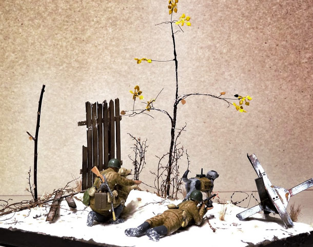 Dioramas and Vignettes: Soviet tank hunters