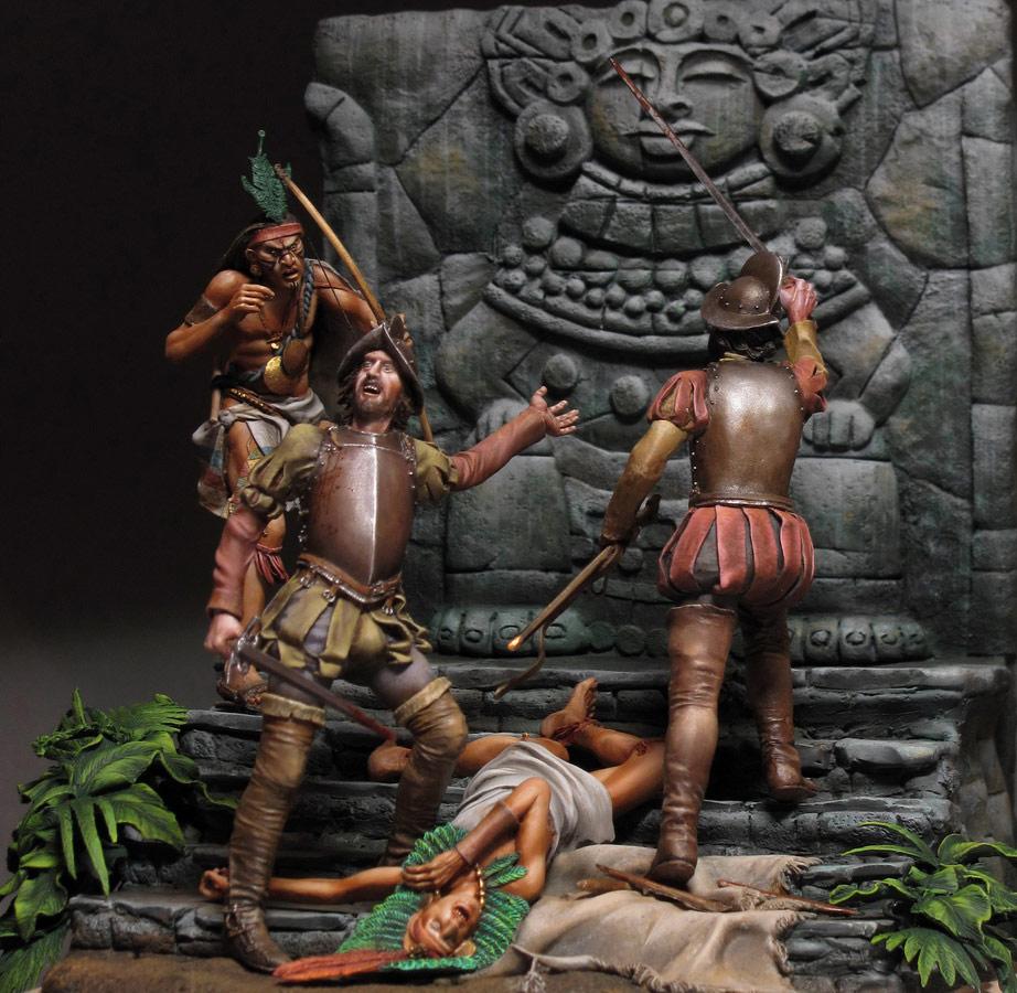 Dioramas and Vignettes: Conquistadors, photo #1