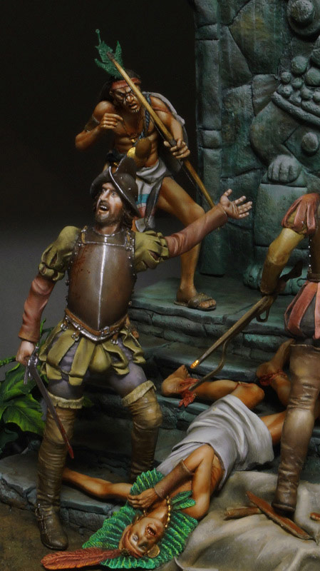 Dioramas and Vignettes: Conquistadors, photo #8