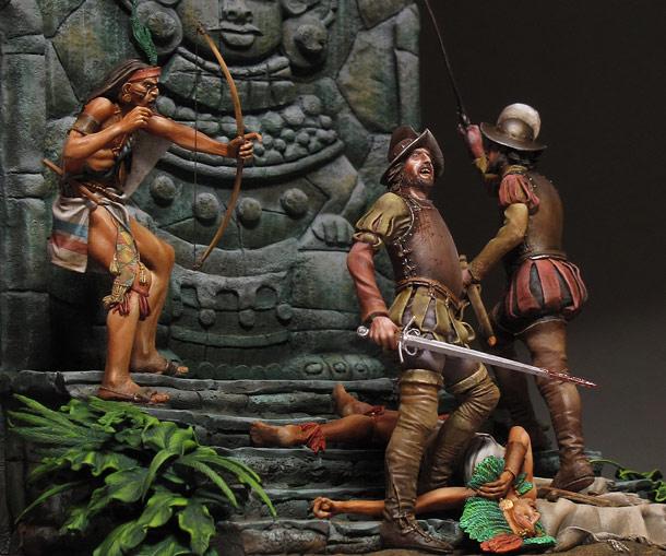 Dioramas and Vignettes: Conquistadors