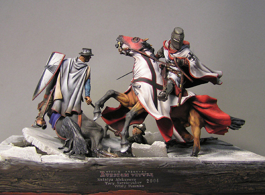 Dioramas and Vignettes: The Battle on the Ice, photo #1