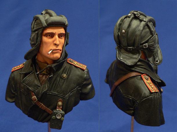 Figures: Soviet tank commander