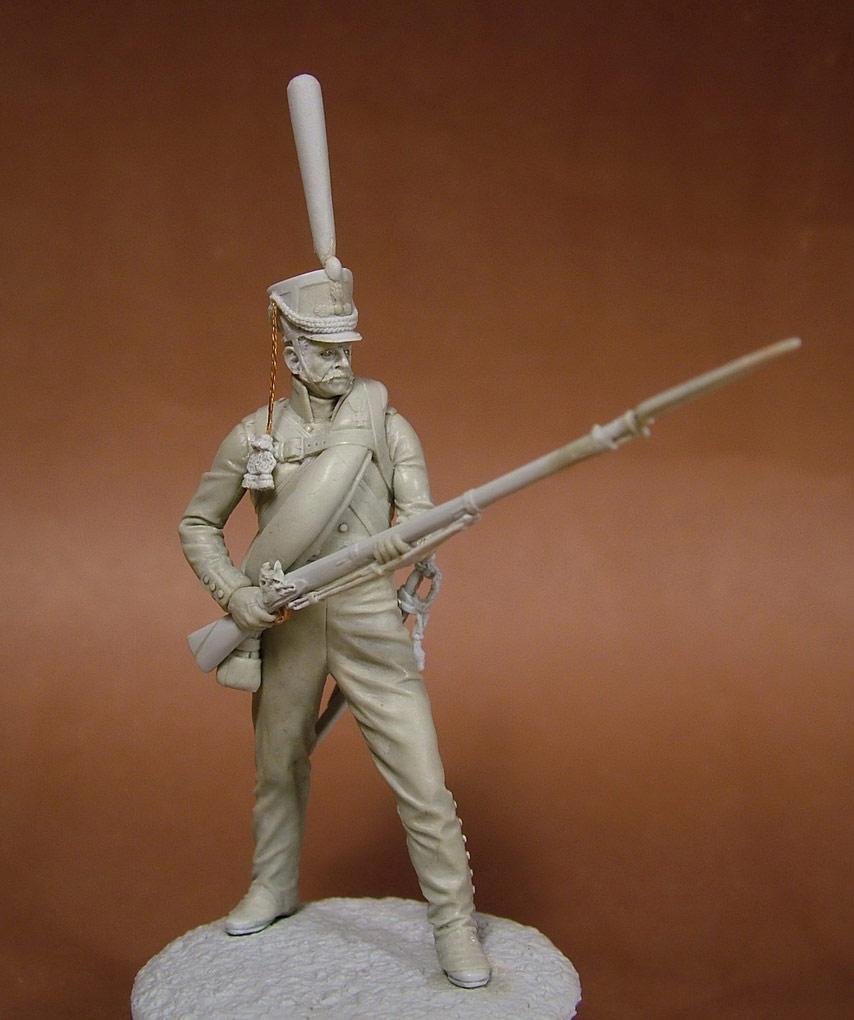 Sculpture: Russian grenadier, 1812, photo #1
