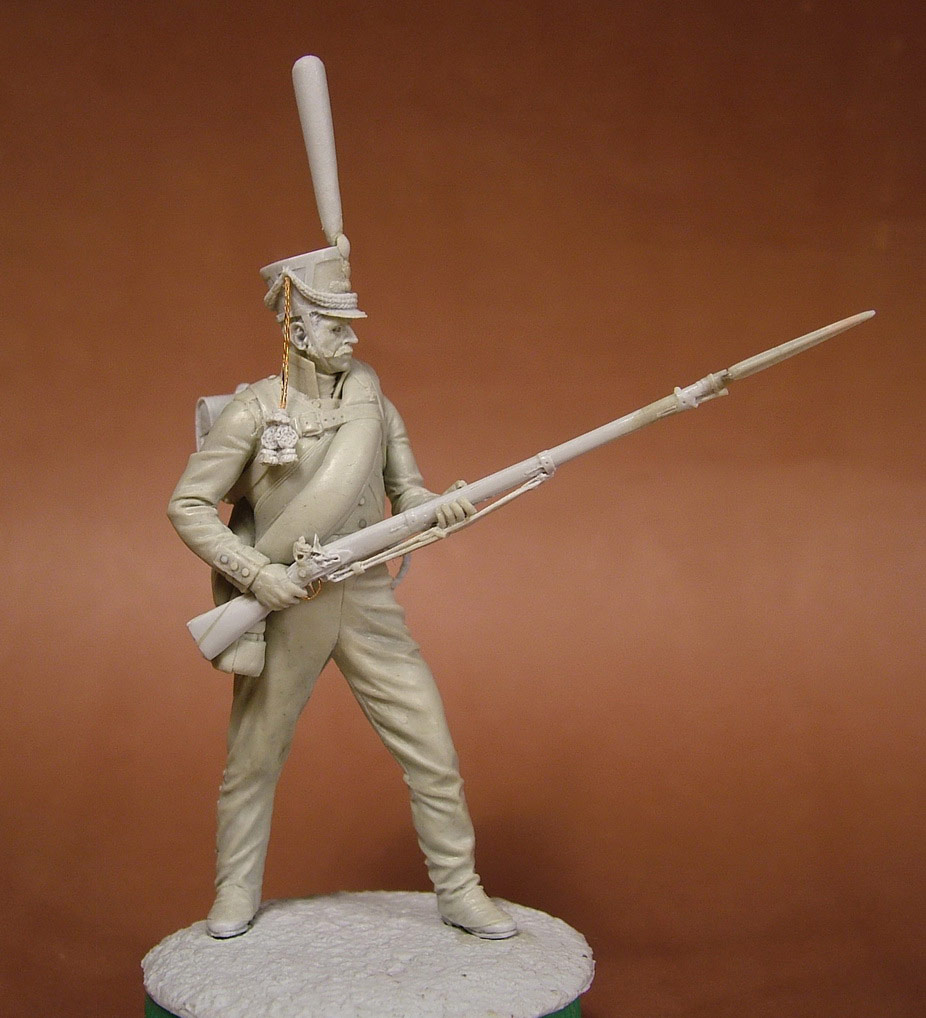 Sculpture: Russian grenadier, 1812, photo #10