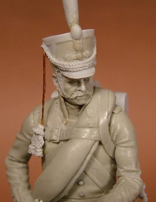 Sculpture: Russian grenadier, 1812, photo #12