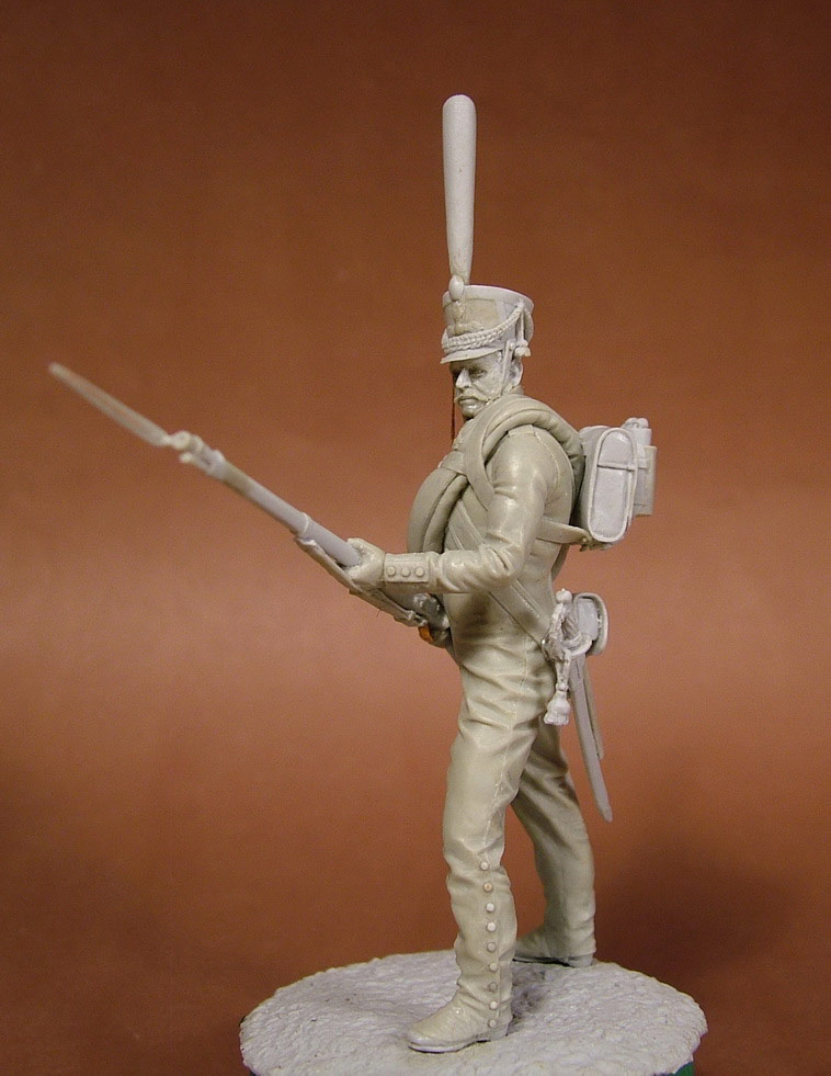 Sculpture: Russian grenadier, 1812, photo #4